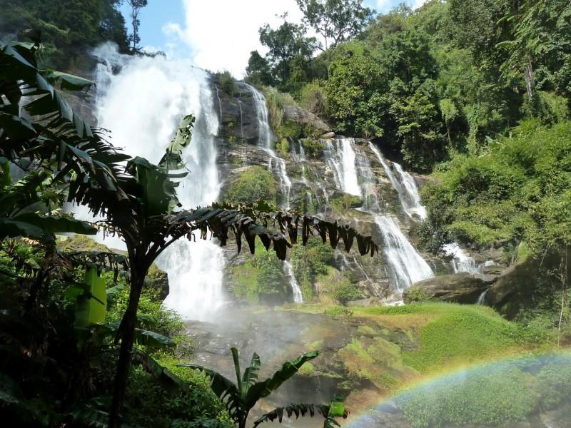 Wasserfall im Doi Inthanon NP
