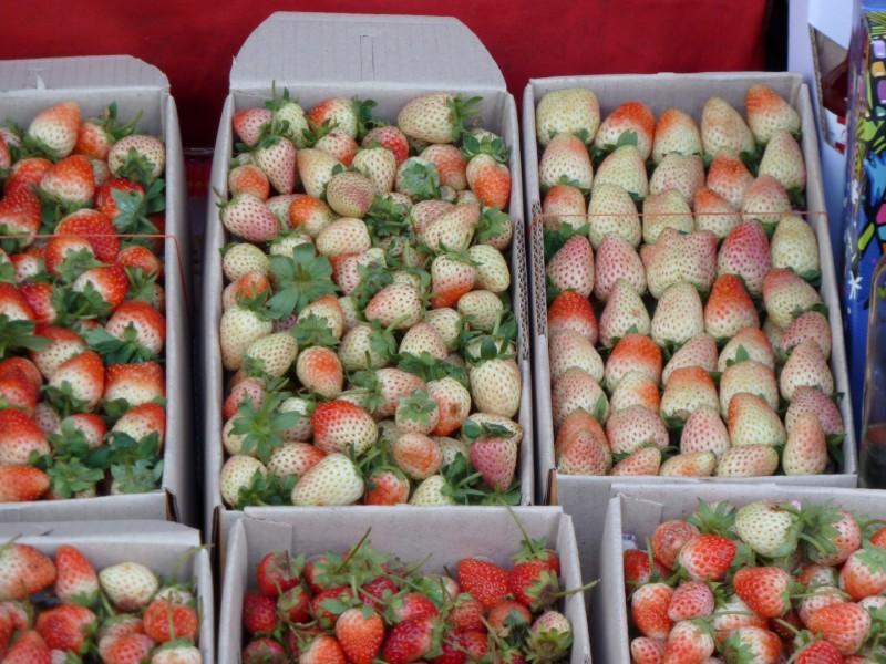 Reife Erdbeeren?