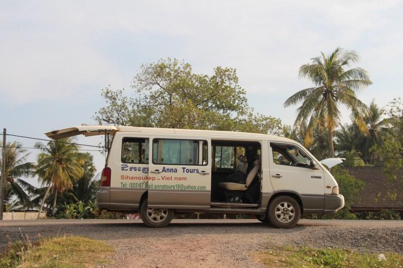 Unser Bus hatte alle paar Meter eine Panne. Nachdem wir ihn erfolgreich anstossen konnten, gab er 300 Meter später den Geist auf :-)