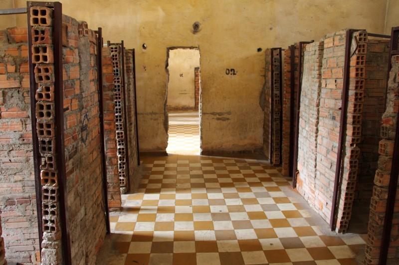 Tuol Sleng Genocide Museum - Schulen wurden zu Gefägnissen umgebaut.