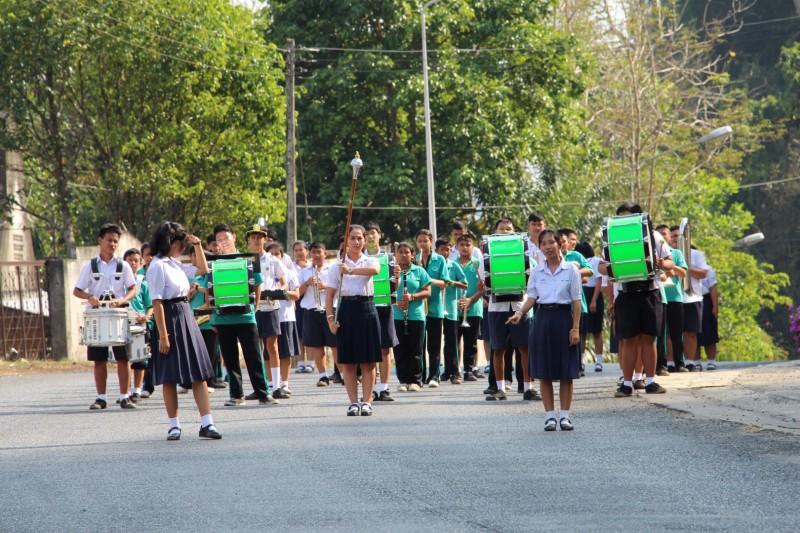Marschmusik gibt es sogar in Thailand :-)