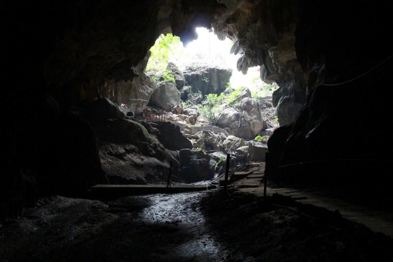 Dragon Cave von innen.