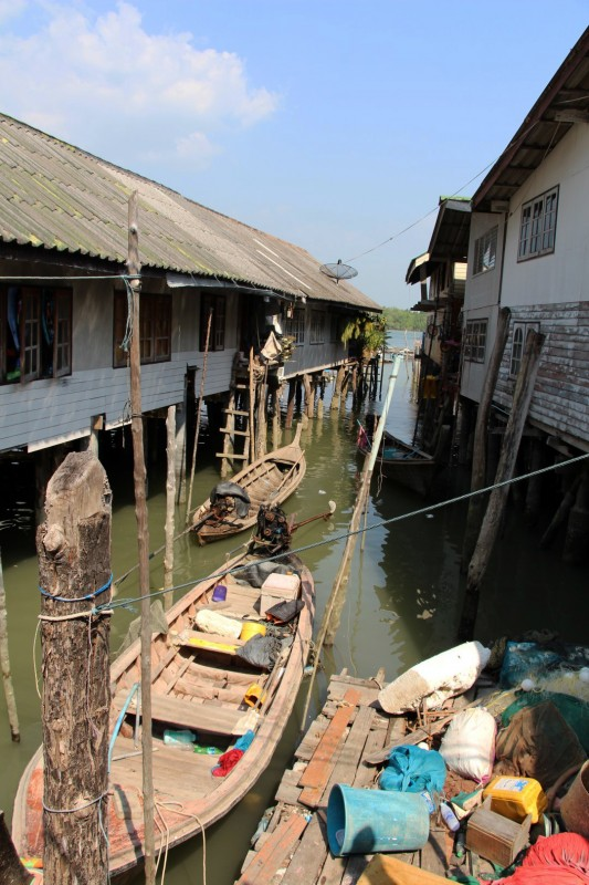 Muslimisches Floating Village