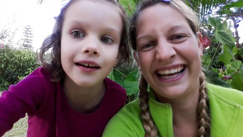 Helenas erstes Selfie :-)