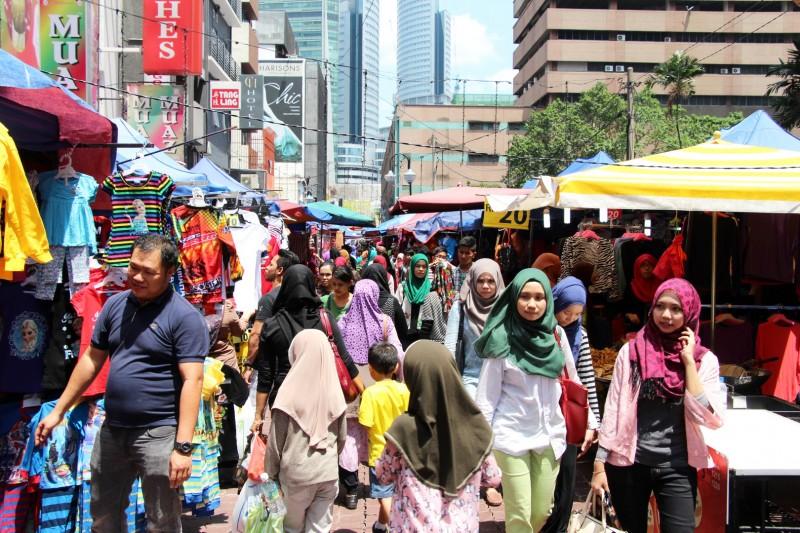 Die Stadt der Muslime.
