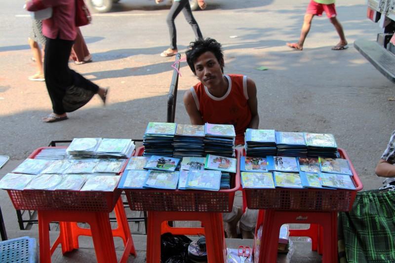 CDs - der neuste Schrei in Myanmar
