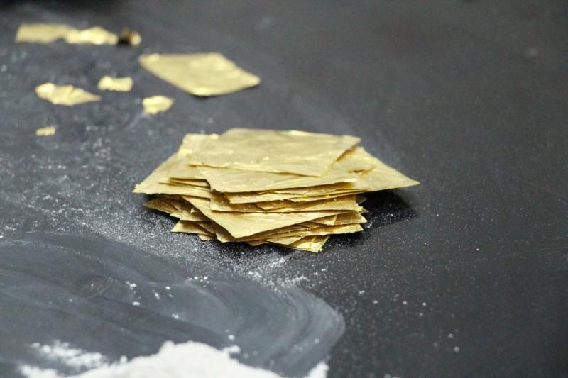 Gold-Plättlis