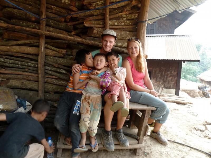 Die Kids vom Homestay