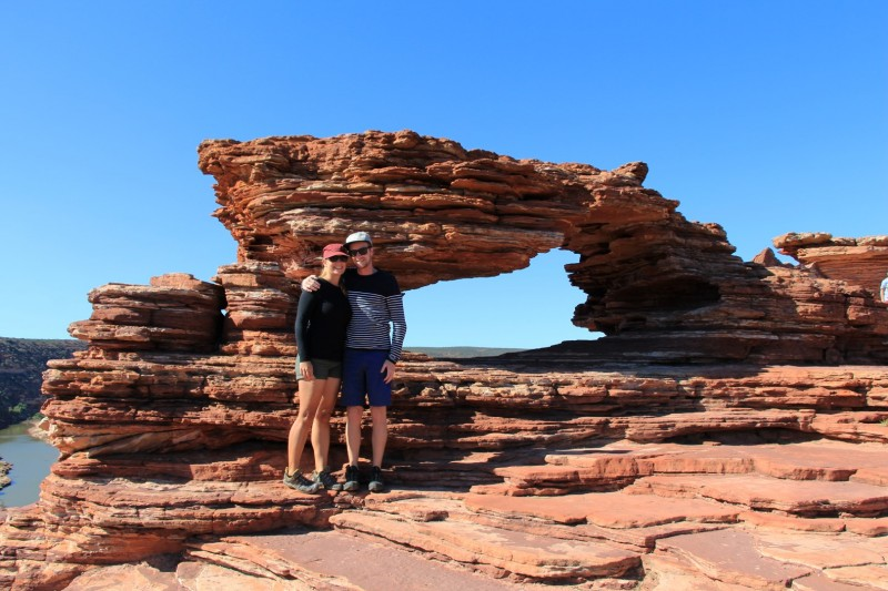 Nature Window im Kalbarri Nationalpark