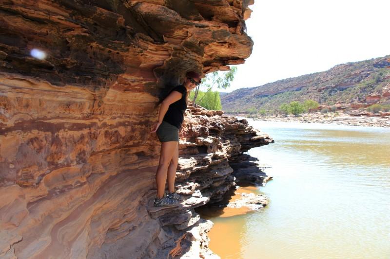 Herausfordernde Wanderwege im Kalbarri Nationalpark.