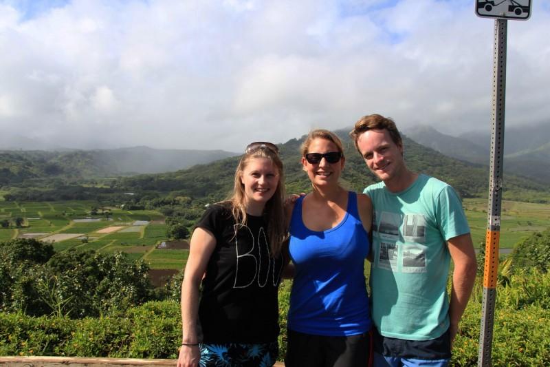 Zusammen mit Fabienne erkundeten wir während einer Woche Kauai