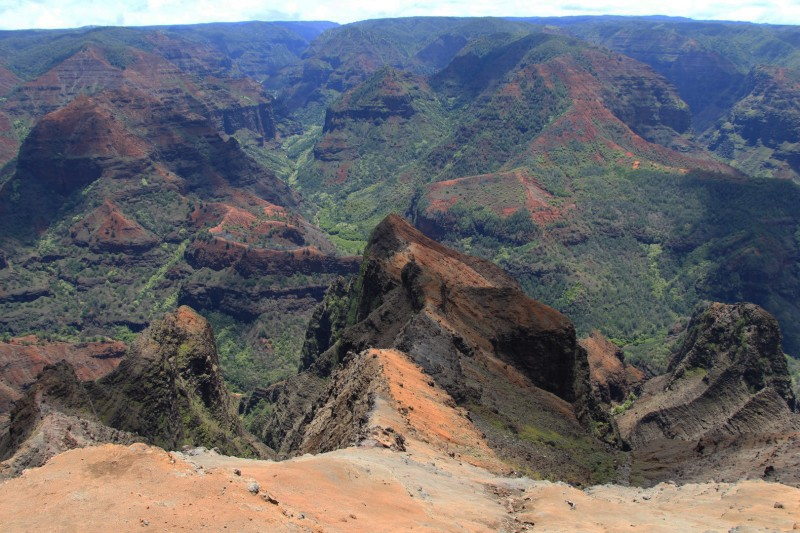 Waimea Canyon, der Grand Canyon von Kauai