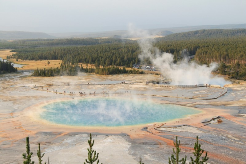 Grand Prismatic - der King der Hot Pools