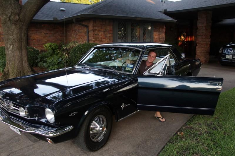 Ein Ausritt mit dem Mustang durfte nicht fehlen