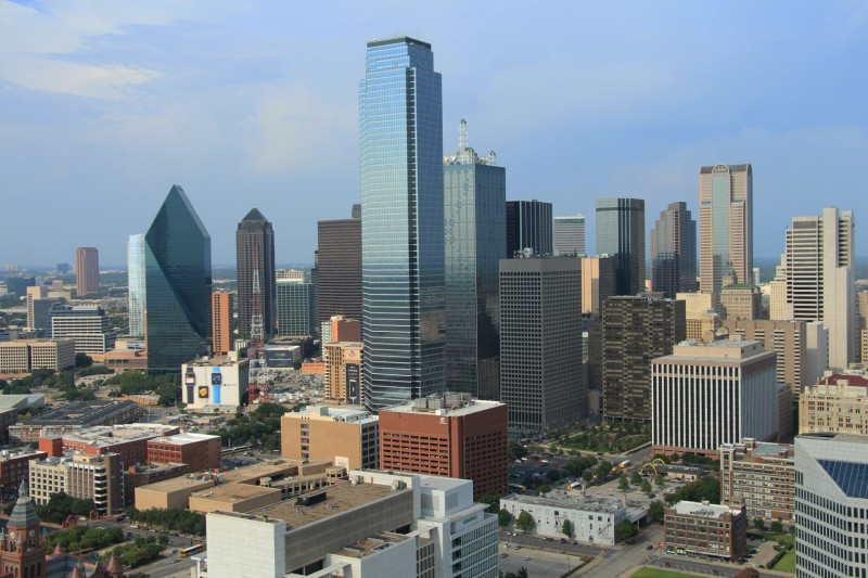 Skyline von Dallas