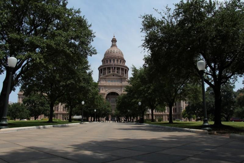 Regierungsgebäude in Austin TX