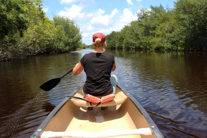 Böötlen im Everglades NP