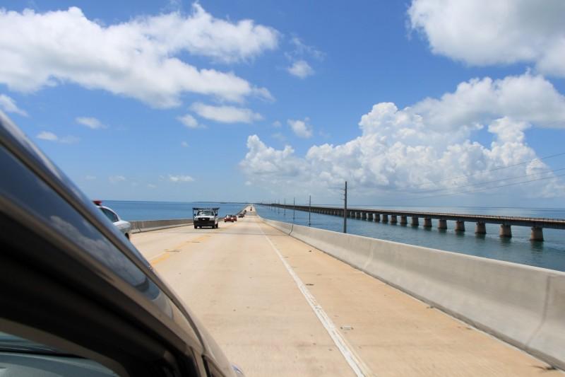 Um bis nach Key West zu fahren, mussten wir 42 Brücken überqueren