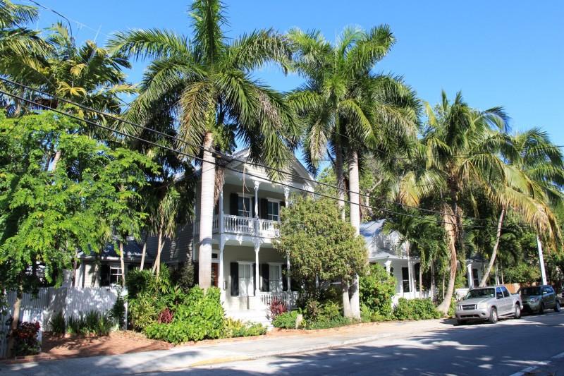 Typisches Haus in der Altstadt von Key West