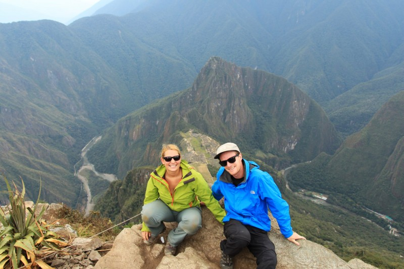 Vom Machu Picchu ging es dann nochmals hoch auf 3000m.u.M auf den Machu Picchu Mountain.