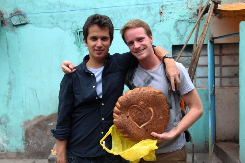 Frisch von der Baekerei, mit Christian