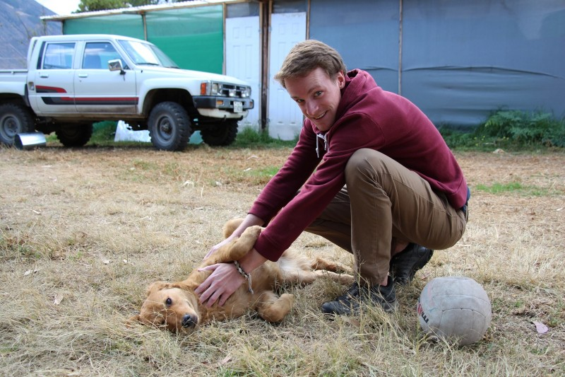 Fabian der Tierfreund