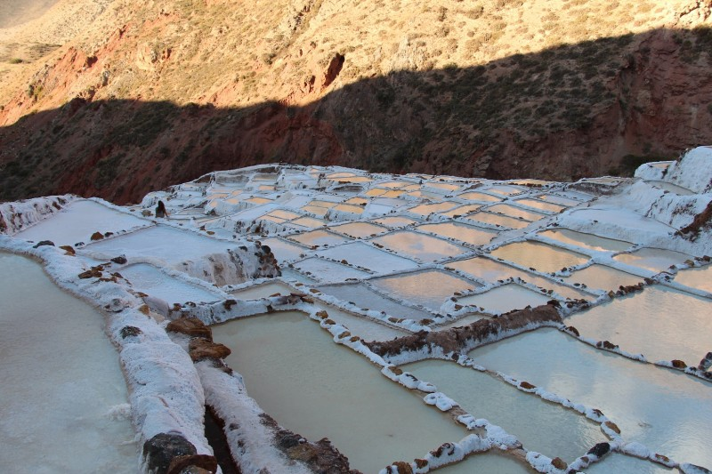 Die Salzterrasen von Maras