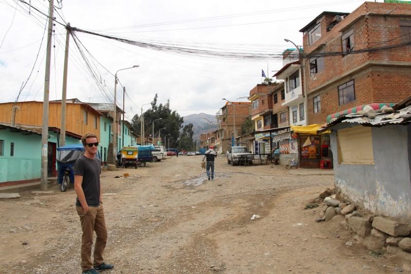 Wie man sieht ist Huaraz nicht gerade die schönste Stadt.