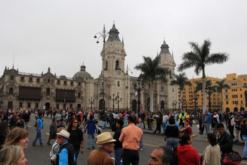 Ein Plaza de Armas gibt es in unzähligen Latin-Amerikanischen Städten.