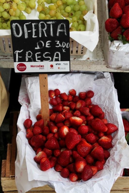 Wo gibt es schon 1kg Erdbeeren für ca 1 Fr.?