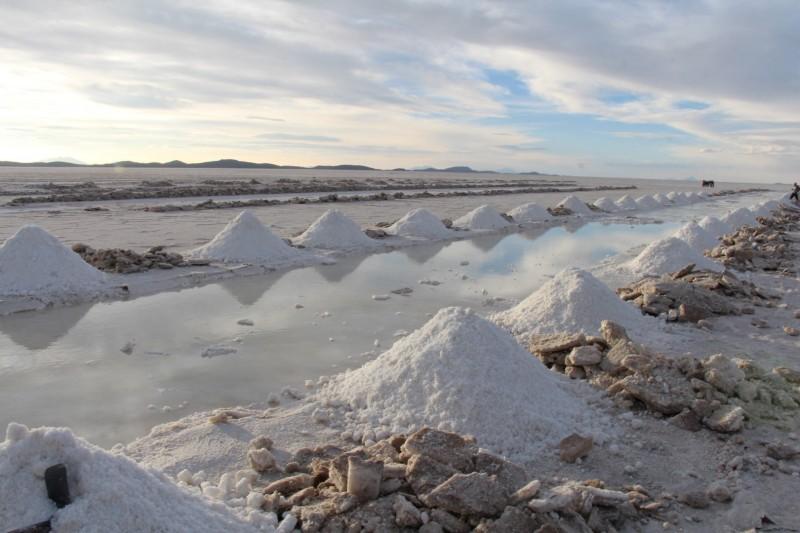 Salzproduktion